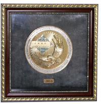 Настенная медаль